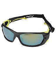 Meru Masterpiece cat.4 - Sportbrille, Black/Yellow