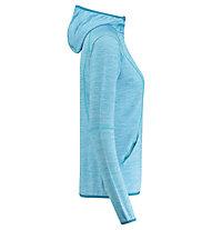 Meru Megara Stretch - Fleecejacke mit Kapuze - Damen, Blue