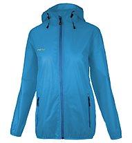 Meru Mimizan - giacca antipioggia trekking - donna, Blue