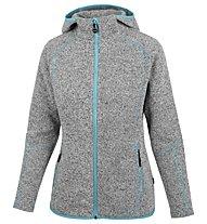 Meru Mjösa - giacca in pile trekking - donna, Grey/Blue