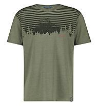 Meru Moss M Single Jersey S/S - T-shirt - Herren, Dark Green
