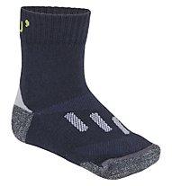 Meru Nakila (1 pair) - calzini trekking - bambino, Navy/Green