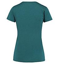 Meru Narvik s/s shirt women - t-shirt trekking - donna, Dark Green