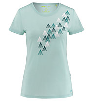Meru Narvik s/s shirt women - t-shirt trekking - donna, Light Blue