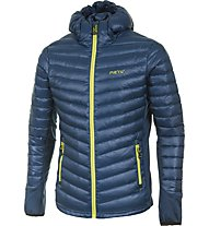 Meru New Down Jacket, Poseidon/Lime Punch