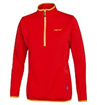 Meru New Fleece Woman Damen Fleecepullover, Light Red