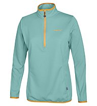 Meru New Fleece Woman Damen Fleecepullover, Water Blue