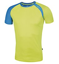 Meru New Speed Techno T-shirt trekking, Kiwi/Royal Blue
