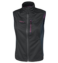 Meru New Surrey Weste Damen, Black