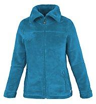 Meru Nunavut - giacca in pile con cappuccio - donna, Blue