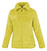 Meru Nunavut - giacca in pile con cappuccio - donna, Yellow