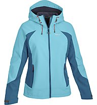 Meru Odelas giacca Softshell donna, Turquoise/Petrol