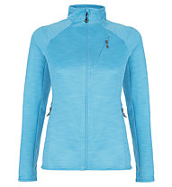 Meru Ohai Tech - giacca in pile - donna, Light Blue
