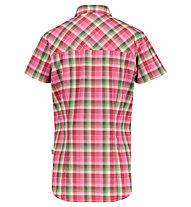 Meru Otta W Functional S/S - camicia a maniche corte - donna, Pink/Green
