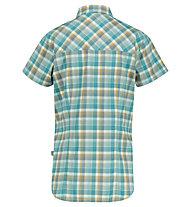 Meru Otta W Functional S/S - camicia a maniche corte - donna, Blue/Yellow