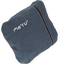 Meru Outdoor Fleeceblanket, Indian Teal/Grey