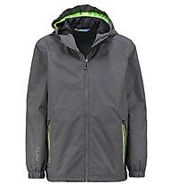 Meru Oxnard - giacca hardshell con cappuccio - bambino, Grey