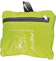 Meru Packable Alpine Pro 35 - Zaino escursionismo, Light Green