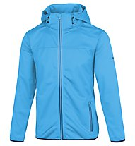 Meru Paris - Softshelljacke Wandern - Herren, Light Blue