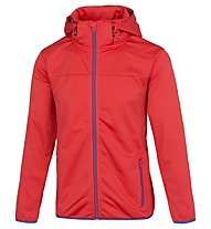 Meru Paris - Softshelljacke Wandern - Herren, Red
