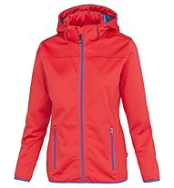 Meru Paris - Softshelljacke Wandern - Damen, Red