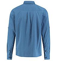 Meru Peania functional S/S shirt roll up - Trekkinghemd - Herren, Light Blue