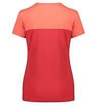 Meru Perama - T-Shirt Wandern - Damen, Red