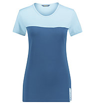 Meru Perama - T-Shirt Wandern - Damen, Blue