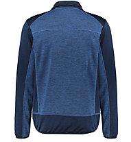 Meru Pogoni - giacca in pile - uomo, Blue