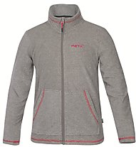 Meru Pori Kinder Fleecejacke, Grey