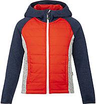Meru Prag - giacca ibrida con cappuccio - bambino, Red