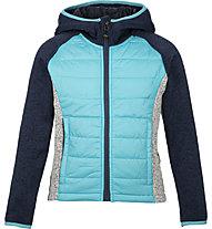 Meru Prag - giacca ibrida con cappuccio - bambino, Blue