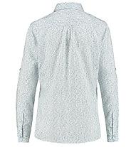Meru Puebla Roll Up - camicia manica lunga - donna, Light Blue