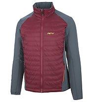 Meru Québec - giacca trekking - uomo, Red/Grey