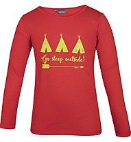 Meru Redmund - maglietta a maniche lunghe - bambino, Red