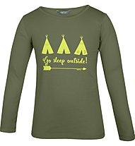 Meru Redmund - maglietta a maniche lunghe - bambino, Green