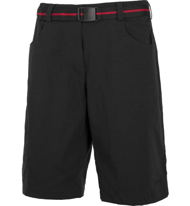 Meru Rhön II - pantaloni corti trekking - donna, Black