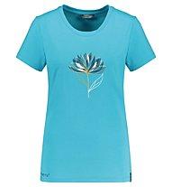 Meru Rijukan W Single Jersey - T-Shirt - Damen, Blue