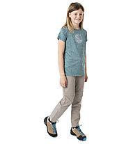 Meru Rotowaro SS Junior - T-shirt - bambino, Green