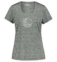 Meru Rotowaro SS W - T-shirt - donna, Grey