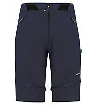 Meru Roturua T Zip - pantaloni zip-off - donna, Dark Blue