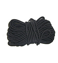 Meru Rubber Pole Cord - cordino in gomma, Black