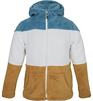 Meru Salem - giacca in pile con cappuccio  - bambino, Blue/White