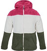 Meru Salem - Kapuzenjacke Bergsport - Kinder, Pink/White