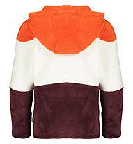 Meru Salem - giacca in pile - bambino, Brown/White/Red