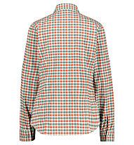 Meru Sauda W Functional Roll-Up - Langarmhemd Wandern - Damen, Red/Grey