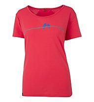 Meru Sedico - T-Shirt trekking - donna, Red
