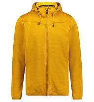 Meru Serres - giacca in pile - uomo, Yellow
