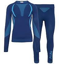 Meru Set Winter - intimo tecnico - uomo, Blue