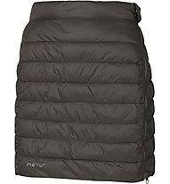 Meru Skirt Gander W Damen Rock Winter, Black